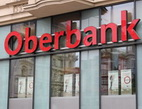 Představujeme Vám Oberbank. Na snímku pobočka banky.