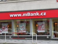 Představujeme Vám mBank. Nasnímku finanční centrum mBank.
