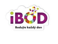 iBOD - nový věrnostní program. Jedna karta místo mnoha. Nasnímku logo iBOD.