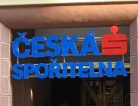 Bankou roku 2013 sestala Česká spořitelna. Nasnímku logo České spořitelny.
