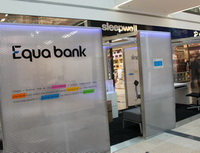 Equa bank - minipobočka