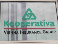 Pojišťovna Kooperativa připíše svým klientům zhodnocení vevýši3,8%. Nasnímku logo Kooperativy.