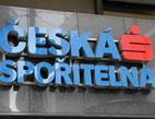 Hledá se využití pro bankovní pobočky. Na snímku logo České spořitelny.