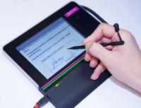 Signpad odGE Money Bank - vytváření podpisového vzoru