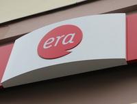 Era / Poštovní spořitelna nabízí službu Donáška hotovosti. Na snímku logo Ery.