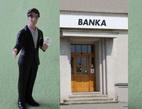 Experimentální pobočky velkých bank. Na snímku pobočka.