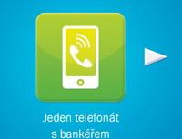Česká spořitelna nabízí novou službu – osobní virtuální bankéř. Na snímku reklama nové služby.