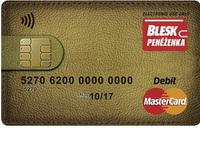 BLESK Peněženka - předplacená platební karta