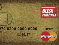 Předplacené karty vstupují na český trh. Na snímku Blesk peněženka.