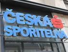 Česká spořitelna nabízí klientům BLUE a Erste Premier multiměnovou debetní kartu. Na snímku logo České spořitelny.