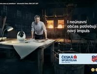 Nová kampaň České spořitelny zaměřena na podnikatele. Na snímku upoutávka k nové kampani.