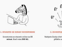 Nová P2P lendingová platforma - Zonky. Na snímku investora Zonky.