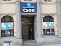 Bankovní konta zdarma bez podmínek a s podmínkami. Na snímku pobočka ČSOB.