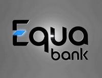 Equa bank snížila úrokovou sazbu uMinutové půjčky. KRePůjčce rozdává tablety. Nasnímku logo Equa bank