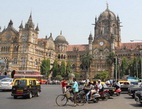 Mumbai, nádraží - Indie