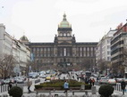 Volby 2017 - na snímku Národní muzeum v Praze