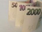 Obrázek: peníze na bankovní poplatky