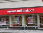 Představujeme Vám mBank. Na snímku finanční centrum mBank.