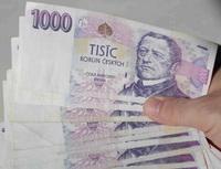 Metropolitní spořitelní družstvo - vkladatelé peníze asi brzy neuvidí. Na snímku tisícikorunové bankovky.