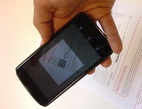 Načítání QR kódu pro platbu mobilním telefonem