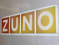 Klienti ZUNO mohou platit pomocí QR kódů. Nasnímku logo ZUNO.