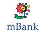 mBank - Banka rozdává zákazníkům ceny v soutěžních akcích - Na snímku: logo mBank