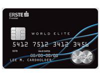 Platební karta MasterCard World Elite - Česká spořitelna, Erste Premier