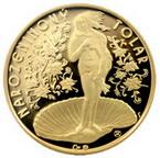 Už víte, čím letos oVánocích obdarujete své blízké? Zkuste pamětní mince. Nasnímku Narozeninový tolar.