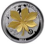 Už víte, čím letos oVánocích obdarujete své blízké? Zkuste pamětní mince. Nasnímku mince Zlatý Kaštanovník.