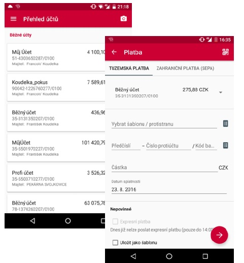 Komercni Banka Vylepsila Mobilni Bankovnictvi A Soucasne Nabizi Nove