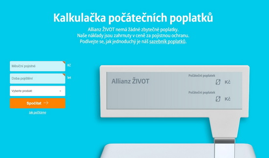 Allianz Život - web
