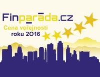 Cena veřejnosti vrámci soutěže Finanční produkt 2016