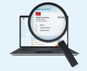 Obr. 3: Nový internetbanking ČSOB