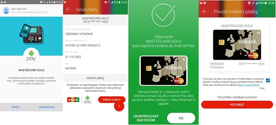 mBank a Android Pay