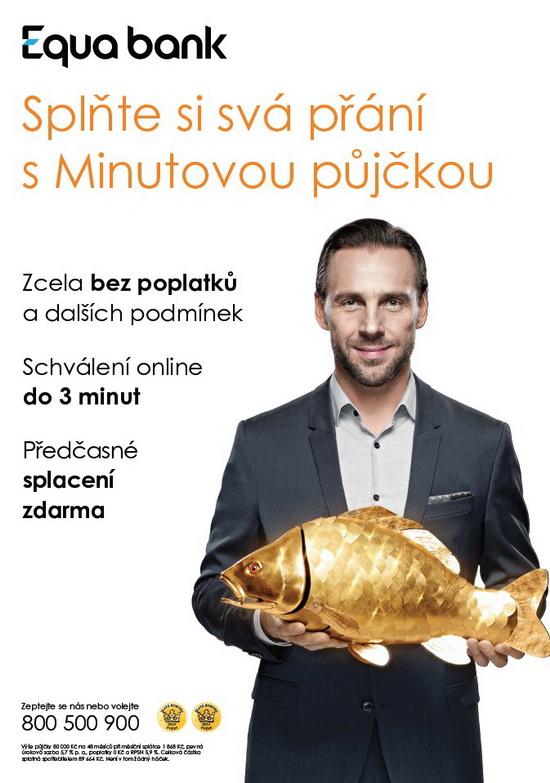 Obrázek 1: Reklama Equa bank napůjčku