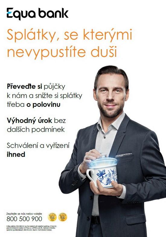 Obrázek 1: Reklama Equa bank narefinancování půjčky