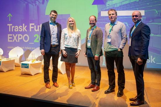 Obrázek: Účastníci diskuse nakonferenci Trask Future Insight 2019