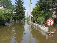Obrázek. Záplava