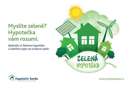 Obrázek: Zelená hypotéka
