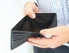 Obrázek: Prázdná peněženka