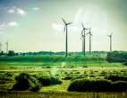 Obrázek: Větrné elektrárny