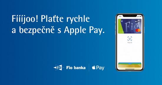 Obrázek: Apple Pay Fio banka
