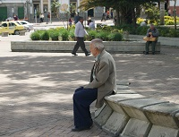 Obrázek: Důchodce