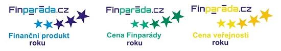 Obrázek: Loga soutěže Finparáda - Finanční produkt roku