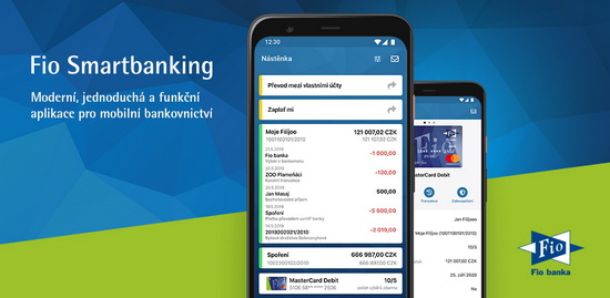 Obrázek: Smartbanking Fio banky