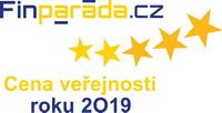 Cena veřejnosti vrámci soutěže Finanční produkt 2019