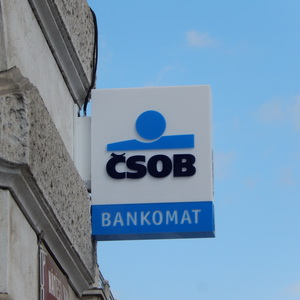 Vkladový bankomat čsob