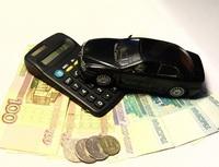 Obrázek: Kalkulačka spenězi a autíčkem