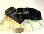 Obrázek: Kalkulačka s penězi a autíčkem