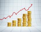 Obrázek: Graf s penězi